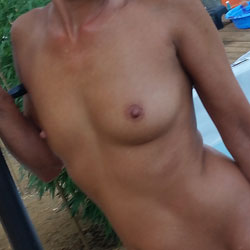 Fun In The Sun! - Hard Nipples