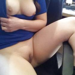 Large tits of a co-worker - Danelle