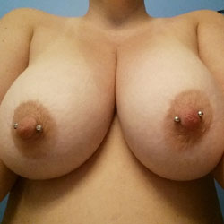 Working On Those Tan Lines - Big Tits, Body Piercings, Wife/Wives