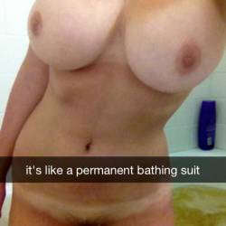 Very large tits of my girlfriend - My gf