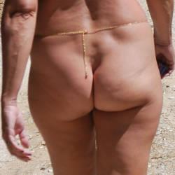 My wife's ass - Cloth