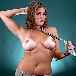 Studio Tanlines Striped - Big Tits