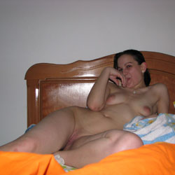 Naked Simone On Bed - Bed, Big Tits, Brunette Hair, Full Nude, Lying Down, Naked In Bed, Nipples, Perfect Tits, Shaved Pussy, Spread Legs, Sexy Body, Sexy Girl, Sexy Legs, Penetration Or Hardcore, Pussy Fucking