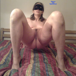 Posing Crabby Style - In Your Face! - Brunette