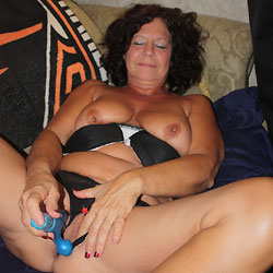 You Ask For More - Mature, Brunette, Big Tits, Toys