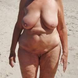 Extremely large tits of a neighbor - Irina