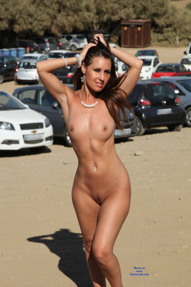 Nude in public pic of the day