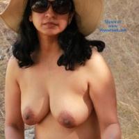 Garden - Brunette, Big Tits