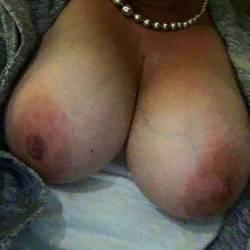 Very large tits of my wife - Sexy MILF