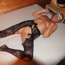 She Is Still Horny - Lingerie