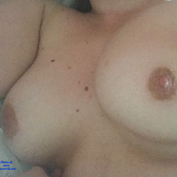 At Home, Rainy Day - Big Tits