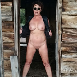 Old Cabin - Big Tits, Brunette, Mature