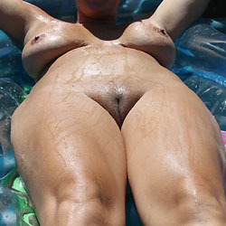 Blonde Laying Out - Big Tits, Wife/Wives