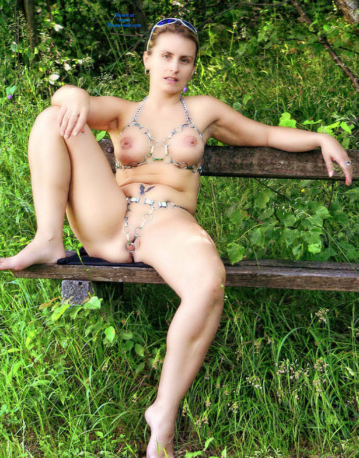 Excellent Bea big tits naked in public useful