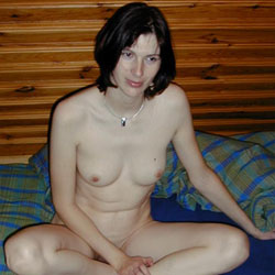 Private Moments With Petite Housewife - Brunette, Wife/Wives