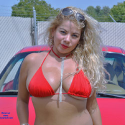 Red Bikini Red 911 - Big Tits, Blonde, Firm Ass, High Heels Amateurs