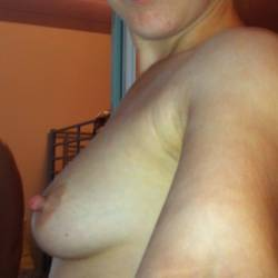 Small tits of my wife - dani