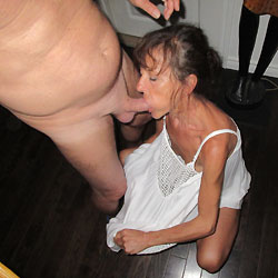 Blowjob - Brunette, Blowjob, Mature