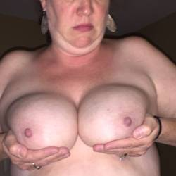 Large tits of my wife - HORNY MILF