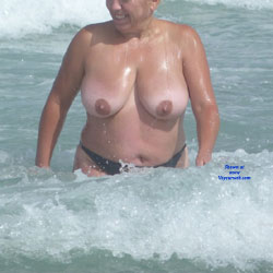 Ladies On The Beach - Beach Voyeur, Big Tits