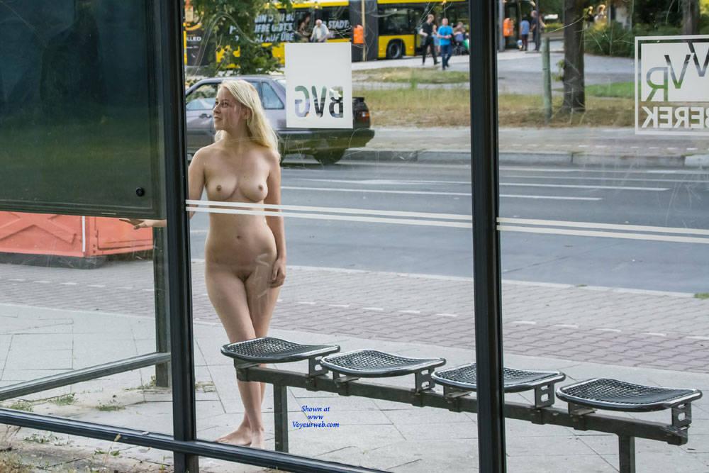 nude public bus
