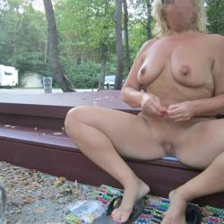 Medium tits of my wife - Juicy