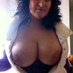 My very large tits - Angie