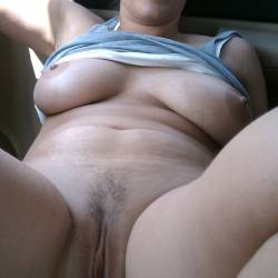 Very large tits of my ex-girlfriend - Midwest girl