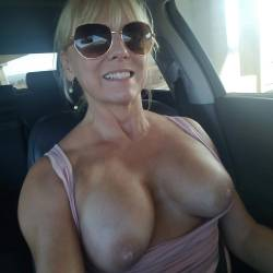 Large tits of a co-worker - Betty boob