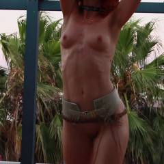 Vienna - Hot Holiday Fun in France - Firm Ass, Outdoors, Redhead, Shaved