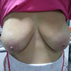 Medium tits of my wife - Tiara