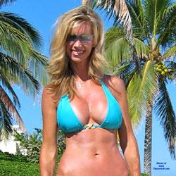 Sally On The Beach - Big Tits, GF