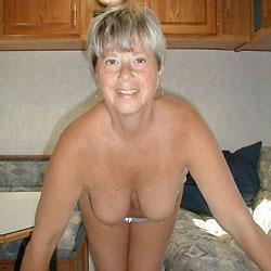 Wanting a Hard Cock Deep Inside Me - Big Tits, Blonde