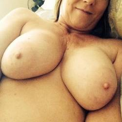 Large tits of a co-worker - Bammike