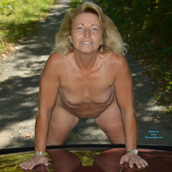 Out For A Drive 2 - Blonde, Mature, Outdoors