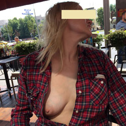 Around The World - Big Tits, Flashing, Public Exhibitionist, Public Place