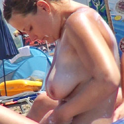 Greek Beach 1 - Beach Voyeur, Big Tits