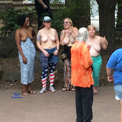 Topless In Asheville - Big Tits, Public Place, Topless Girls