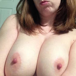 Large tits of my wife - Red14