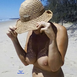 Quiet Day At Beach - Beach, Big Tits