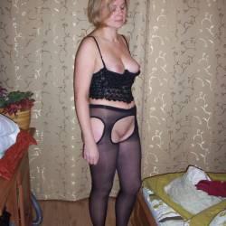 Medium tits of my wife - Ewa