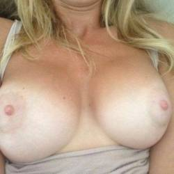 Extremely large tits of my girlfriend - Sara