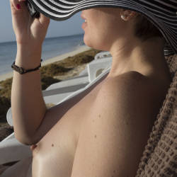 Very small tits of my wife - My Wife