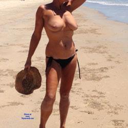 Same Day At Beach - Beach, Big Tits, Outdoors