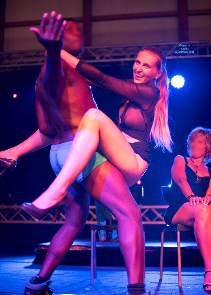 Pic #3 Bri On Erotic Fair - Long Legs, Public Exhibitionist, Public Place, Shaved