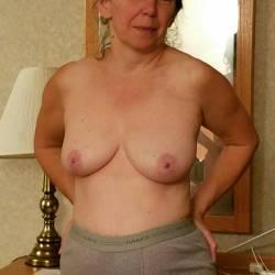 Medium tits of my wife - Annie
