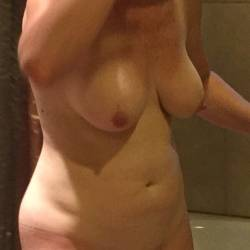 Medium tits of a co-worker - Mistress