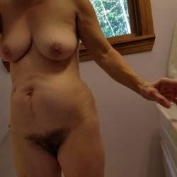 Large tits of my wife - Annie