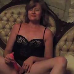 Candy Masturbating - Shaved, Masturbation, Lingerie, Brunette, Amateur, Toys