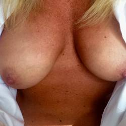 My large tits - Shy Fit One